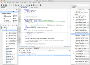 GNAT Programming Studio - Image: GPS 6.1 screenshot