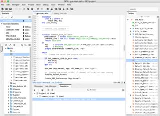 GNAT Programming Studio integrated development environment