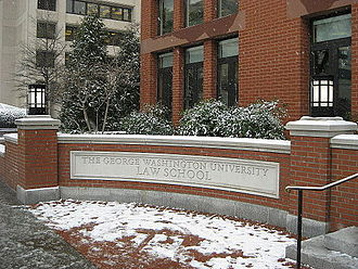 George Washington University Law School - The Jacob Burns Law Library.