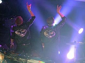 Christian Karlsson (DJ) - Galantis performing in Chicago in 2014