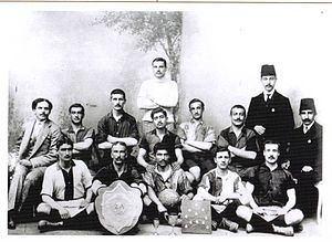 1909–10 Galatasaray S.K. season - Istanbul Sunday League - Galatasaray SK 1909-10 Champion