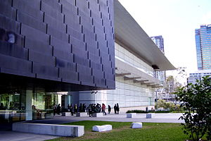 Cultural center - GOMA, Brisbane is the largest art gallery in Australia