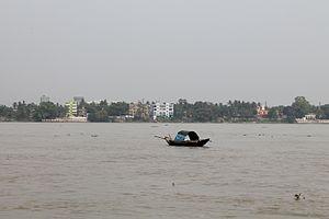 Konnagar - Ganges in Konnagar