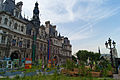 Garden on town hall square, Paris 18 June 2013.jpg