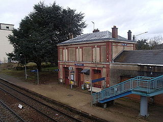 Gare de Nonancourt french railroad station