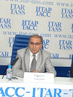 Garegin Tosunyan Ashotovich, president of Russian banks association.jpg