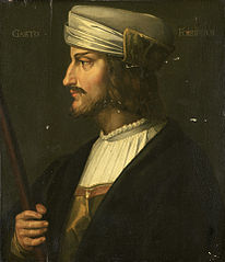 Portrait of Gaston de Foix, French Military Commander