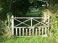 Gate, Balwest - geograph.org.uk - 233474.jpg