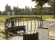 A gate for wheelchairs in Hiroshima