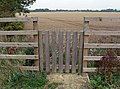 Gate into the fields - geograph.org.uk - 944965.jpg