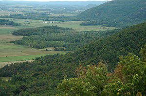 Gatineau Hills - Ottawa valley at the skirts of the Gatineau Hills