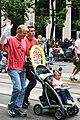 Gay couple with child at San Francisco Gay Pride.jpg