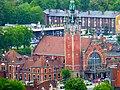 Gdańsk Główny, widok z wieży Kościoła Mariackiego - panoramio.jpg