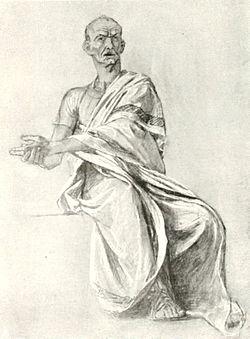 פונטיוס פילאטוס, ציור מ-1910