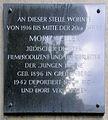 Gedenktafel Brandenburgische Str 36 (Wilmd) Moriz Seeler.JPG