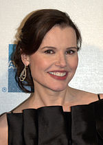 Photo of Geena Davis at the 2009 Tribeca Film Festival.