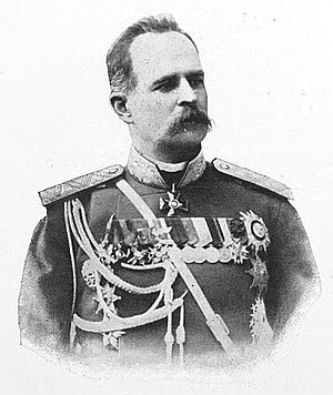 Leonid Artamonov - General Artamonov in 1900