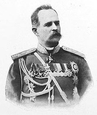 Leonid Artamonov - General Artamonov in 1900