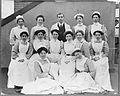 General Lying In Hospital, York Road; group of nurses. Photo Wellcome L0015433.jpg