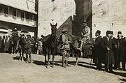 General Watson at Jaffa Gate2