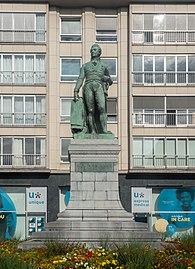 Gent, standbeeld Lieven Bauwens IMG 0647 2021-08-15 10.11.jpg