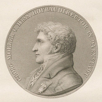 Georg Moller - Georg Moller, prior to 1852