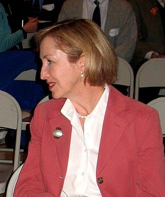 Jay Nixon - Nixon's wife Georganne