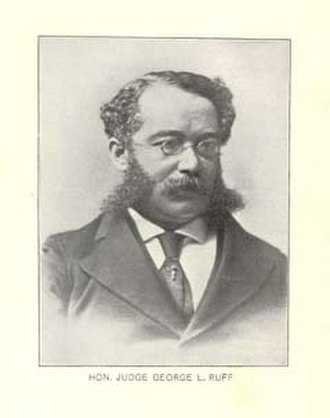 Boston Municipal Court - Hon. George Lewis Ruffin