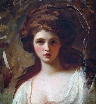 Emma, Lady Hamilton - Emma as Circe, by George Romney, 1782