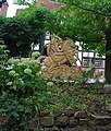 George and The Dragon, outside the George and Dragon, Speldhurst - geograph.org.uk - 1494691.jpg