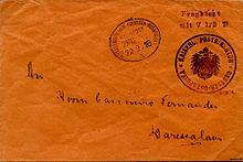 Envelope Deutsch