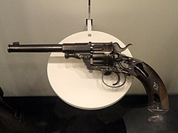 Germany revolver, Model 1879 - National World War I Museum - Kansas City, MO - DSC07464.JPG