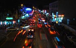 Geylang - Image: Geylang Road By Night 2008