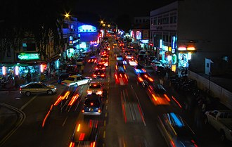 Geylang - Image: Geylang Road By Night 2008