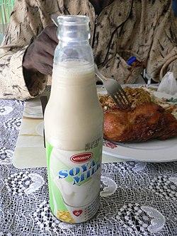 hur gör man sojamjölk