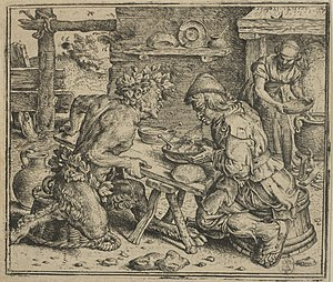 The Satyr and the Traveller - Image: Gheeraerts satyr