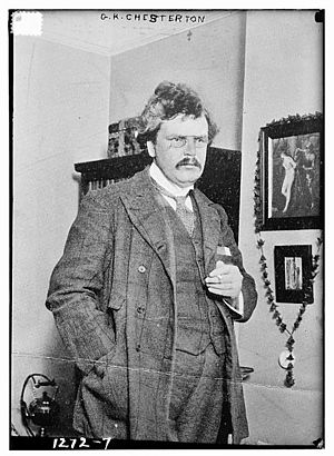 Gilbert Keith Chesterton, (b. 29 May 1874 – d....