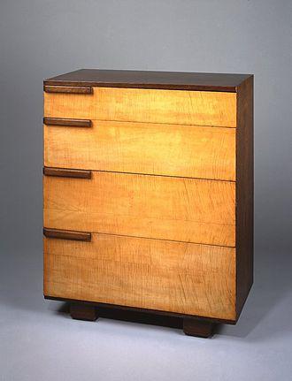 Gilbert Rohde - Bureau, 1933-1934 Brooklyn Museum
