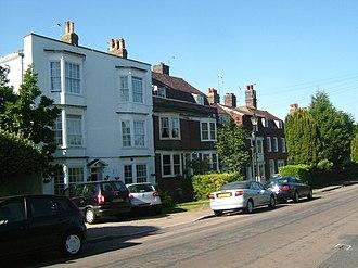 Brompton, Kent - Image: Gillingham Brompton 2744