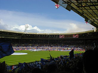 1996 Football League Third Division play-off Final - The first play-off final of the 1995–96 season was bathed in sunshine.