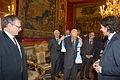 Giorgio Napolitano meets EUI Researchers (12789519884).jpg