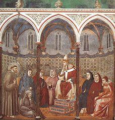 La Prédication devant Honorius III