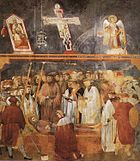 Giotto - Legend of St Francis - -22- - Verification of the Stigmata.jpg