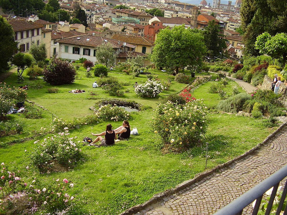 Giardino delle rose wikipedia for Rose da giardino