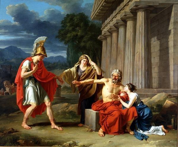Giroust - Oedipus At Colonus