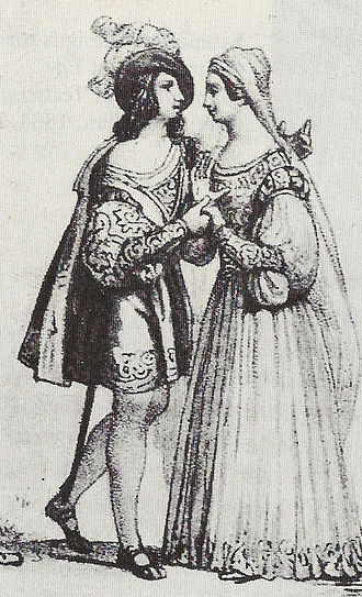 I Capuleti e i Montecchi - Guiditta Grisi and Amalia Schutz at La Scala, December 1830