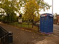 Glasgow, police box on Cathedral Square - geograph.org.uk - 1539263.jpg