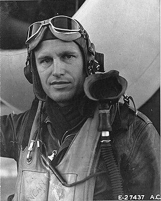 353rd Fighter Group - Col. Glenn E Duncan commanding officer of the 353rd Fighter Group