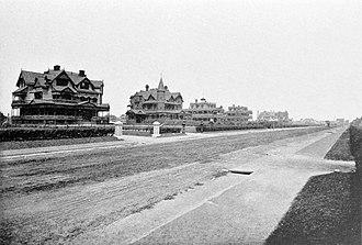 Elberon, New Jersey - Ocean Avneue, 1902