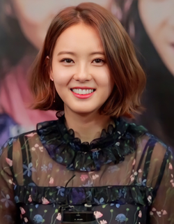 Go Ara in Hwarang Promotion in January 2017.png